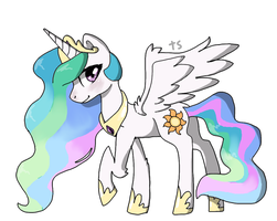 Princess Celestia by ToffeeScout