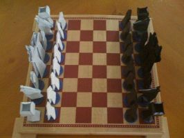 Chess Set by Zadimortis