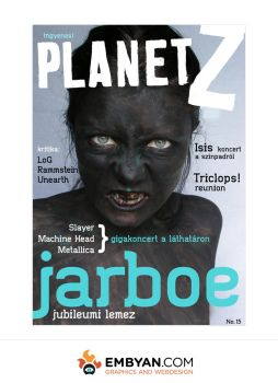 Planet Z - Magazine Cover (no1) by embyan