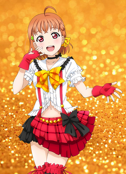.:LoveLive! Sprite Edit - Honoka to Chika:. by QuietFooding