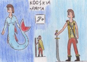 + Anima character by Kooskia