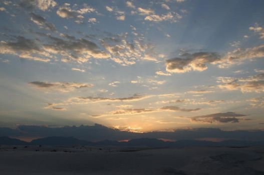 Sunset at White Sands by rainer2k1