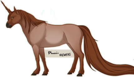 Quirlicorns - 1305YG - Phoenix by Keartricity