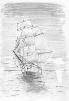 Tall ship by LouieD0g