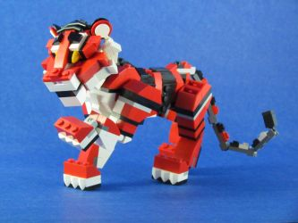 Rojo, the Tiger Cub by retinence