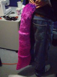 Cheshire Cat Tail WIP by MorbidPrincess122