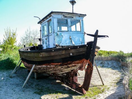 Old Boat _ AltesBoot by BVFoto