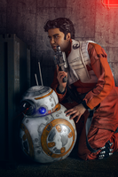 Star Wars - Poe Dameron Cosplay and BB-8 02 by zahnpasta