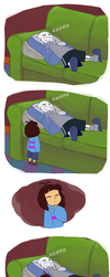 Undertale - They Must be Part Cat by TC-96