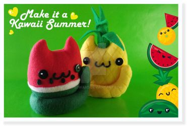 Make it a Kawaii Summer! by Elfedward
