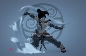 The Legend of Korra by mikhdraws