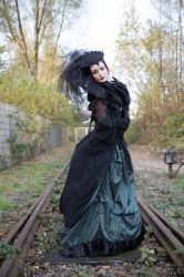Stock - Dark sad autumn melancholie gothic 4 by S-T-A-R-gazer