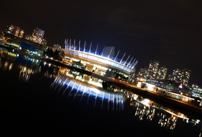 Vancouver at Night by Sunhillow