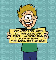 NEWS: Returning to Comics! by WizzKid97