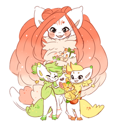 Start of the Family Citrus Tree by Plush-Bean