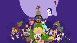 The Legend of Zelda: Majora's Mask by DisasterMastr