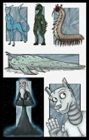 The Aliens of Animorphs by Expression