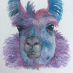 Colorful llama by seakliff