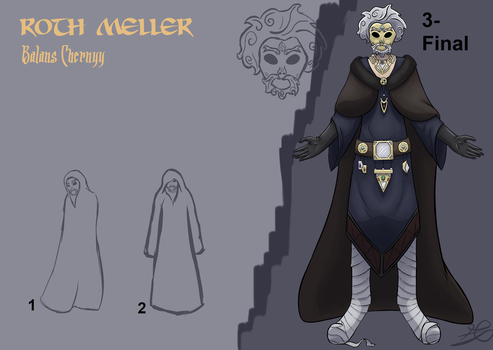 Roth Meller/Balans Chernyy - Character concept by edefergio