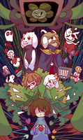 Undertale by Soursopful