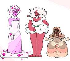 rose quartz batch 2 adopts OPEN (1/3) by raine-bot