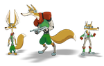 Foxes McCloud by HyraxAttax