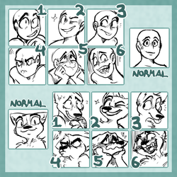 cheap icon styled YCH's!!! CLOSED ATM!!! (paypal) by admirariadopts