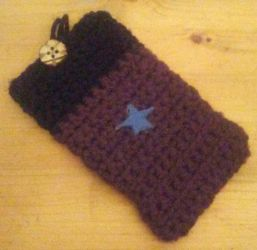 Fallout: New Vegas - Sunset Star Phone Pouch by Missilekite