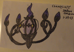 Chandelure by JoshuaCordova