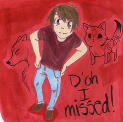 Chuggaaconroy: D'oh I missed! by Somerandomfan