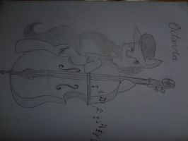 Octavia Upright Bass by NightPrincessLuna