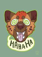 Ha hyena by ccartstuff