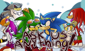 Ask the Sonic Riders! by halfway-to-insanity
