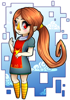 Wind Waker Medli [FanArt] by senpaimisskitty