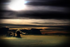 Above the Sea of Clouds by Icedyl-rn