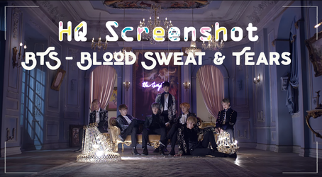 BTS - Blood Sweat N Tears Screenshot by Rosezeep by Rosezeep