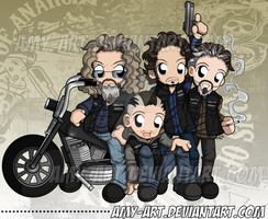 Sons of Anarchy - Commission by amy-art