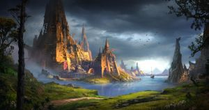 The golden city by DominiquevVelsen