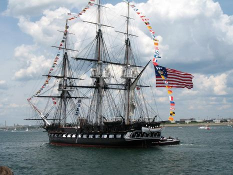 U.S.S. Constitution Old Ironsides. by StephenBarlow