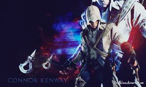 Connor Assassin's Creed 3 Wallpaper by BriellaLove