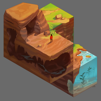 Cube Cave by KEPZONE