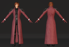 -Final Fantasy- Genesis Rhapsodos (MESH MOD) by Cyan-Th