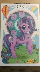 Spring - Starlight Glimmer by HelicityPoni