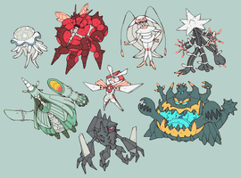 ULTRABEASTS + NECROZMA
