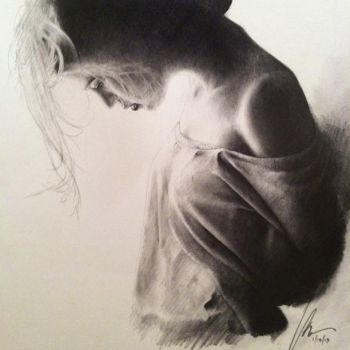 Figure Study - Graphite by binarydreaming