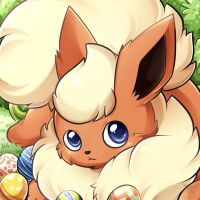 Easter Flareon by MinhPuPu