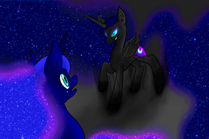 You can't control me! I am YOU! You are NIGHT! by Yukiko-Snowflake