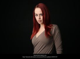 Studio portrait by faestock