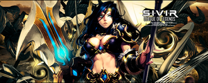 Sivir League of Legends Sig by Rikku2011
