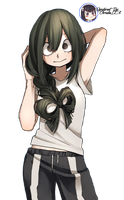 Tsuyu Asui Render by ChristieDA